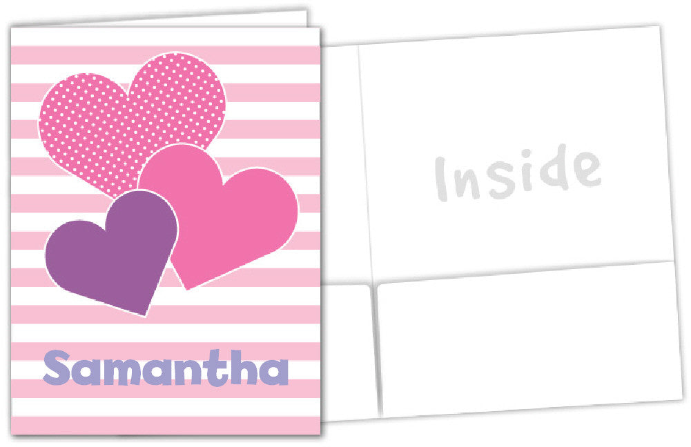 Heart Cluster Folder - frecklebox