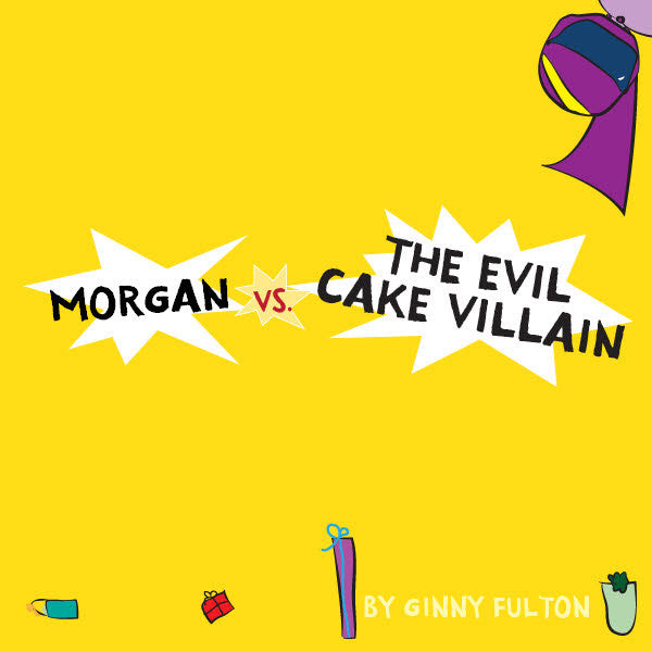 Evil Cake Villain Book - frecklebox