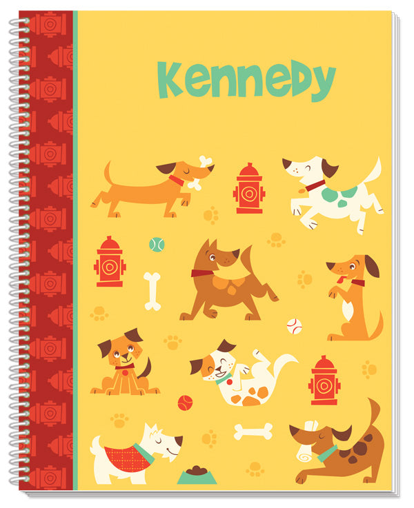 Dog Park Notebook - frecklebox