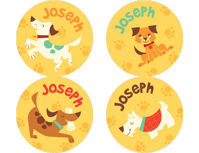 Dog Park Personalized Stickers - frecklebox