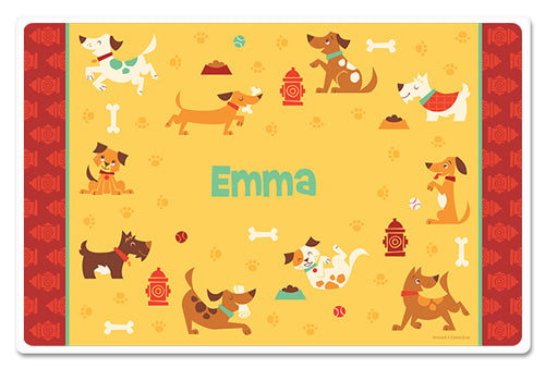 Dog Park Placemat - frecklebox