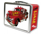 Fire Truck Lunch Box - frecklebox