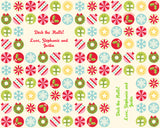 Holiday Icons Wrapping Paper 12ft - frecklebox