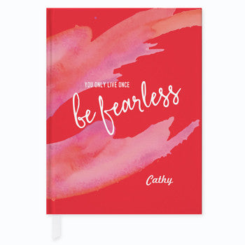 Be Fearless Journal - frecklebox