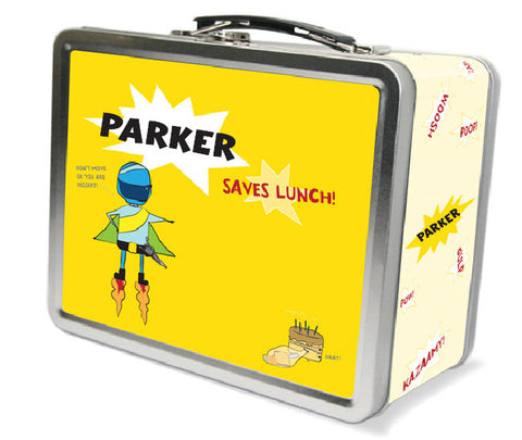 Super Hero Saves Lunch Lunchbox