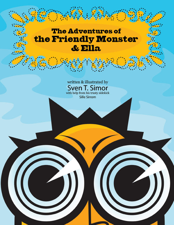 The Friendly Monster Coloring Book - frecklebox