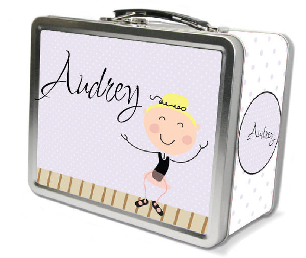 Blonde Hair Tap Dancer Lunch Box - frecklebox
