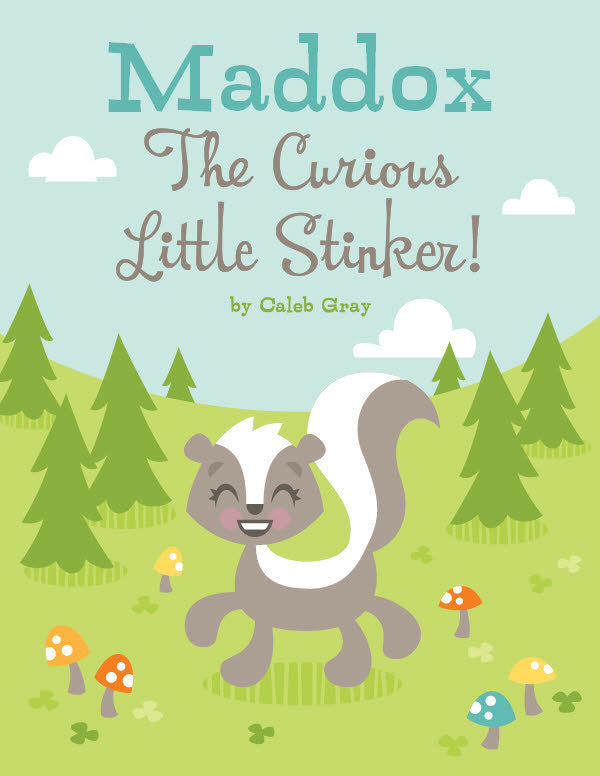 Little Stinker Coloring Book - frecklebox