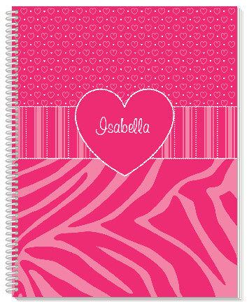 Think Pink Notebook - frecklebox