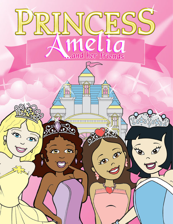 Princess Coloring Book - frecklebox