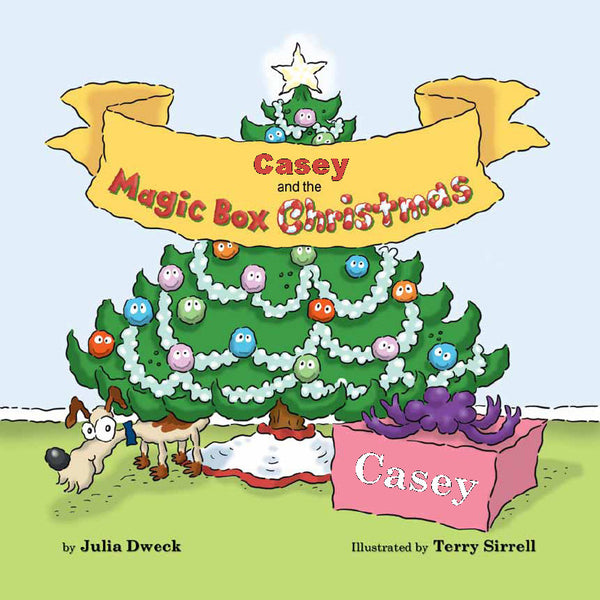 Magic Box Christmas Personalized Storybook - frecklebox