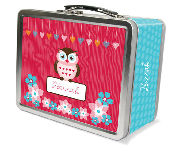 Owl Friends Lunchbox - frecklebox
