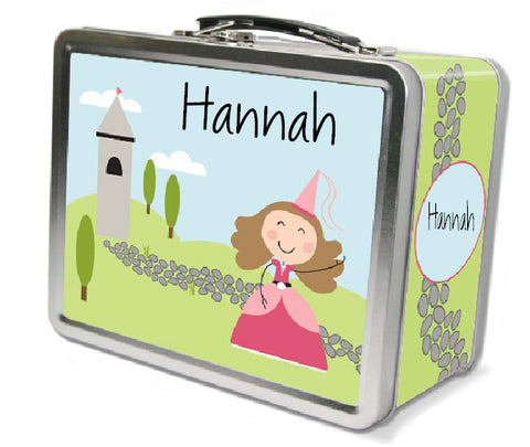 Light Brown Hair Princess Lunch Box