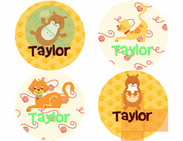 Caleb Pet Park Personalized Stickers - frecklebox
