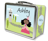 Black Hair Princess Lunch Box