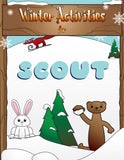 Winter Activity Book - frecklebox - 1