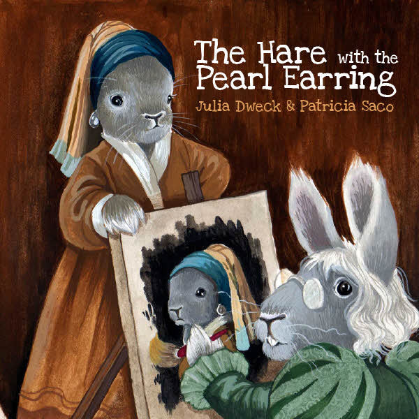 The Hare With the Pearl Earring - frecklebox