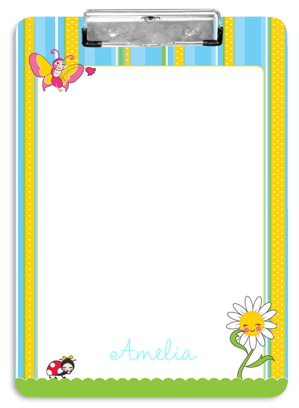 Garden Party Clipboard - frecklebox