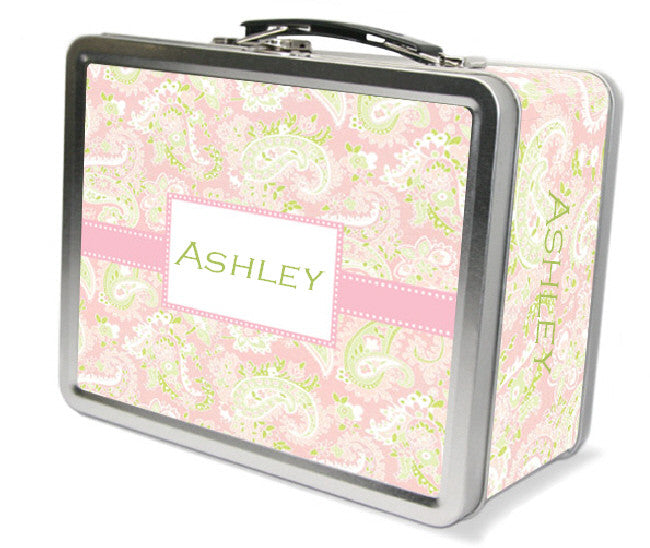 Pink Paisley Lunchbox - frecklebox