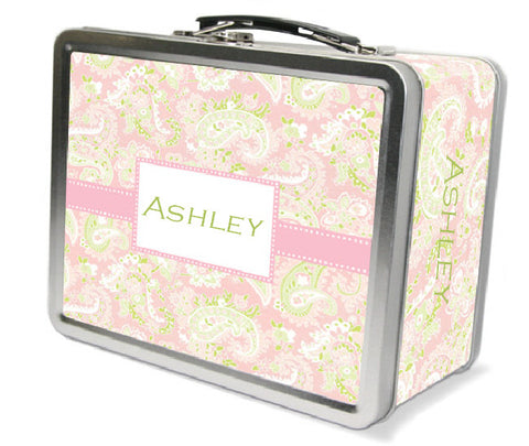 Pink Paisley Lunchbox