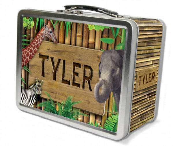Zoo Animals Lunch Box - frecklebox