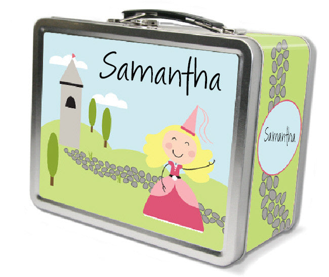 Blonde Hair Princess Lunch Box - frecklebox