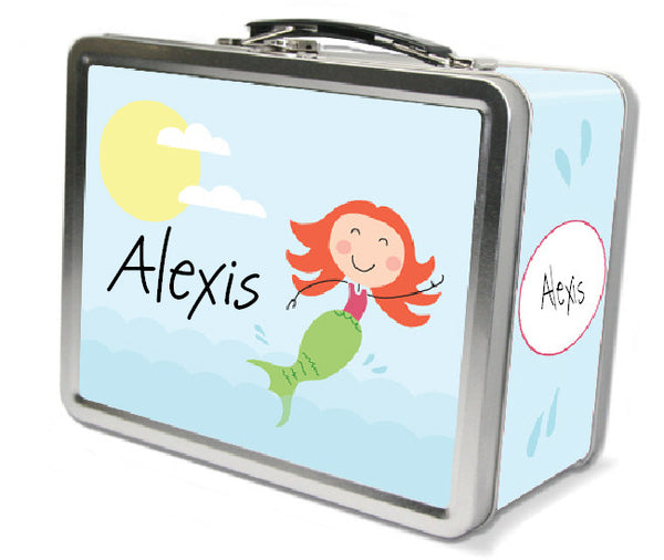 Red Hair Mermaid Lunch Box - frecklebox