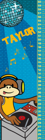 DJ Monkey Growth Chart