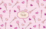 Lollipop Hearts Placemat - frecklebox - 1