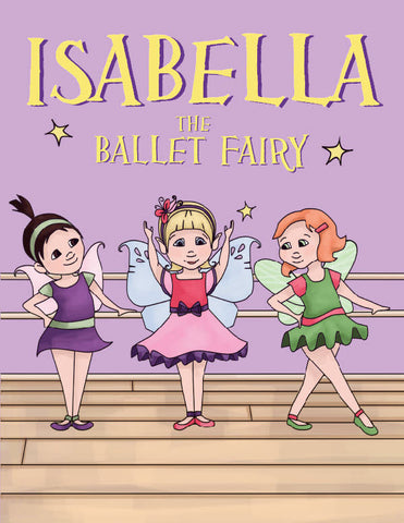 Ballet Fairy Coloring Book