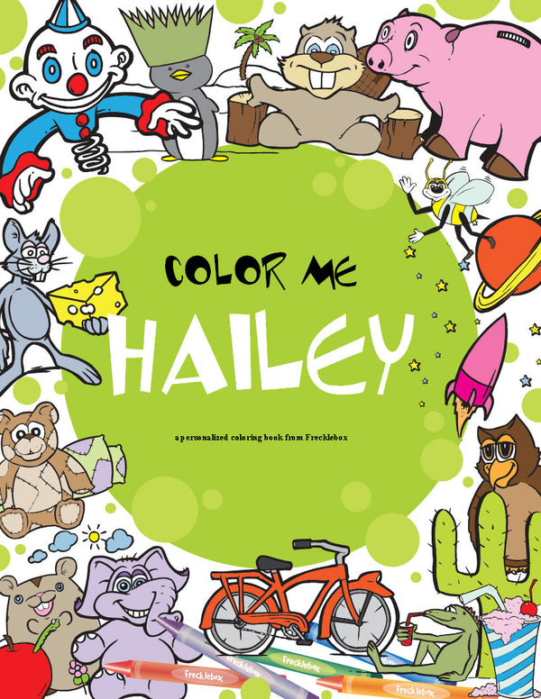Personalized Coloring Book By Frecklebox