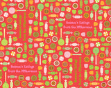 Holiday Candy Red Wrapping Paper 6ft - frecklebox