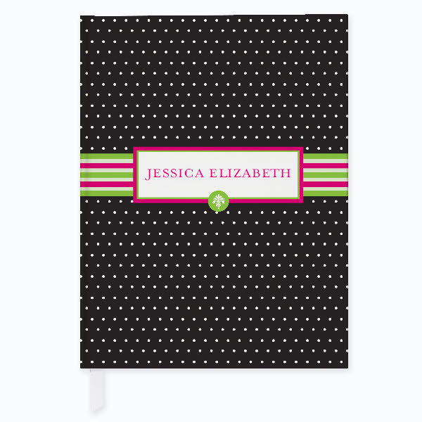 Preppy Pose Personalized Journal - frecklebox