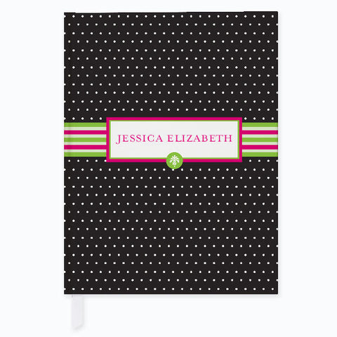 Preppy Pose Personalized Journal