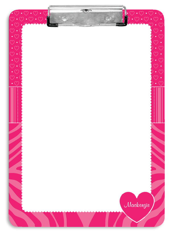 Think Pink Clipboard - frecklebox