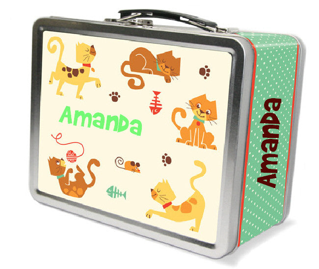 Cat Park Lunchbox - frecklebox