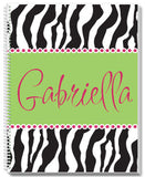 Zebra Notebook - frecklebox - 1