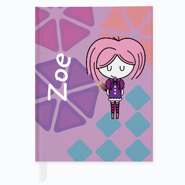 Mod Molly Personalized Journal - frecklebox
