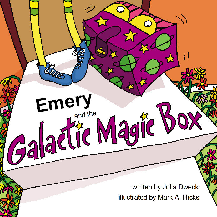 Galactic Box Personalized Storybook - Soft Cover - frecklebox