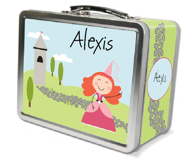 Red Hair Princess Lunch Box - frecklebox