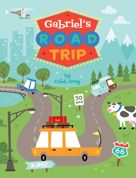 Road Trippin' Coloring Book - frecklebox