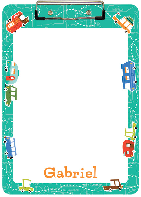 Road Trippin' Clipboard - frecklebox