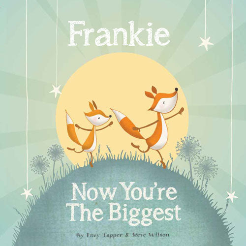 Now You're the Biggest Personalized Storybook - frecklebox