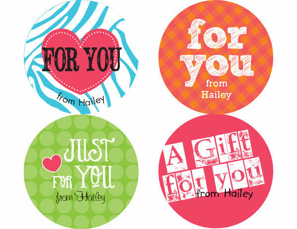 Gift Personalized Stickers