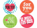 Gift Personalized Stickers - frecklebox