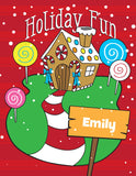 Holiday Fun Activity and Coloring Book - frecklebox - 1