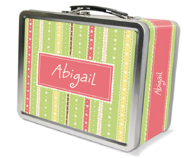Picnic Stripe Lunchbox - frecklebox
