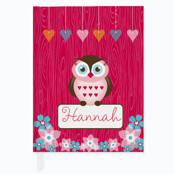 Owl Friends Journal - frecklebox