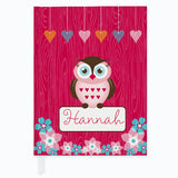 Owl Friends Journal - frecklebox - 1