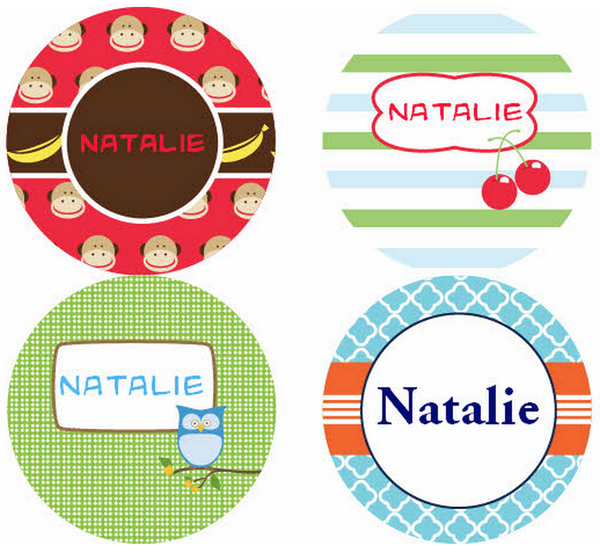 LMD Personalized Stickers - frecklebox
